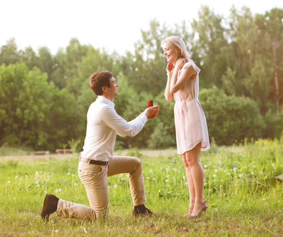Groom Proposing - Wedding Ring